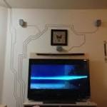 kabels weg laten werken